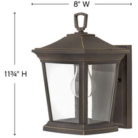 Hinkley 2368OZ Bromley 1 Light 12 inch Oil Rubbed Bronze Outdoor Wall Mount alternative photo thumbnail