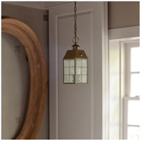 Hinkley 2372AS Nantucket 2 Light 6 inch Aged Brass Outdoor Hanging Light alternative photo thumbnail