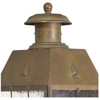 Hinkley 2374AS Nantucket 2 Light 17 inch Aged Brass Outdoor Wall Mount alternative photo thumbnail