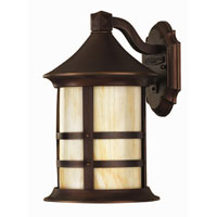 Hinkley Lighting Oak Park 1 Light Outdoor Wall Lantern in Copper Bronze 2390CB-ES
