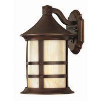 Hinkley Lighting Oak Park 1 Light Outdoor Wall Lantern in Copper Bronze 2390CB