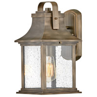 Hinkley 2390BU Grant 1 Light 14 inch Burnished Bronze Outdoor Wall Mount