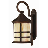 Hinkley Lighting Oak Park 1 Light Outdoor Wall Lantern in Copper Bronze 2394CB-ESDS