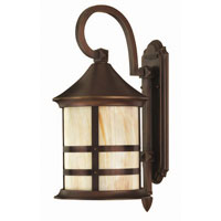 Hinkley Lighting Oak Park 1 Light Outdoor Wall Lantern in Copper Bronze 2394CB