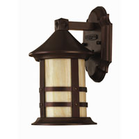 Hinkley Lighting Oak Park 1 Light Outdoor Wall Lantern in Copper Bronze 2396CB-ESDS