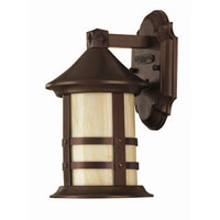 Hinkley Lighting Oak Park 1 Light Outdoor Wall Lantern in Copper Bronze 2396CB