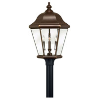 Hinkley 2407CB Clifton Park 4 Light 27 inch Copper Bronze Post Lantern, Post Sold Separately