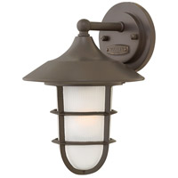 Marina 1 Light 12 inch Bronze Outdoor Wall Mount