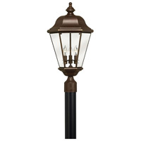 Hinkley Lighting Clifton Park 3 Light Post Lantern (Post Sold Separately) in Copper Bronze 2421CB