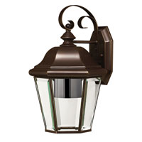 Hinkley Lighting Clifton Park 1 Light Outdoor Wall Lantern in Copper Bronze 2423CB-ESDS