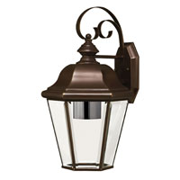 Hinkley Lighting Clifton Park 1 Light Outdoor Wall Lantern in Copper Bronze 2424CB-ESDS