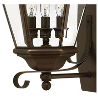 Hinkley 2428CB Clifton Park 3 Light 26 inch Copper Bronze Outdoor Wall Mount alternative photo thumbnail