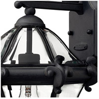 Hinkley 2440MB San Clemente 1 Light 14 inch Museum Black Outdoor Wall Mount alternative photo thumbnail