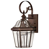 Augusta 1 Light 16 inch Copper Bronze Outdoor Mini Wall Mount