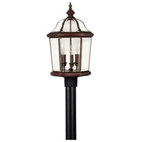 Augusta 3 Light 23 inch Copper Bronze Outdoor Post Mount, Post Sold Separately