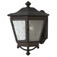 Hinkley 2460OZ Lincoln 1 Light 14 inch Oil Rubbed Bronze Outdoor Wall Mount, Heritage