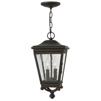 Hinkley 2462oz Heritage Lincoln 2 Light 9 Inch Oil Rubbed Bronze Outdoor Hanging Light
