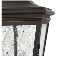 Hinkley 2462OZ Lincoln 2 Light 9 inch Oil Rubbed Bronze Outdoor Hanging Lantern alternative photo thumbnail