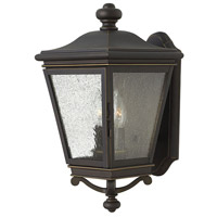 Lincoln 2 Light 17 inch Oil Rubbed Bronze Outdoor Wall