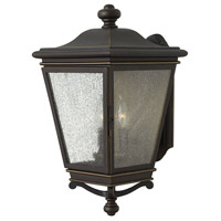 Lincoln 3 Light 19 inch Oil Rubbed Bronze Outdoor Wall Mount