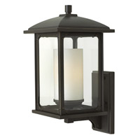 Hinkley Lighting Stanton 1 Light Outdoor Wall Lantern in Oil Rubbed Bronze with Clear Glass 2474OZ-LED