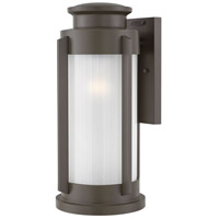 Hinkley 2495KZ Briggs 1 Light 21 inch Buckeye Bronze Outdoor Wall Mount Large