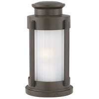 Hinkley 2497KZ Briggs 1 Light 15 inch Buckeye Bronze Outdoor Pier Mount