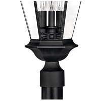Hinkley 2501BK Senator 3 Light 27 inch Black Outdoor Post Mount, Post Sold Separately alternative photo thumbnail