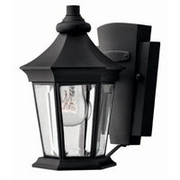 Hinkley Lighting Senator 1 Light Outdoor Wall Lantern in Black 2506BK photo thumbnail