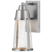 Hinkley 2550SI Miles LED 12 inch Satin Nickel Outdoor Wall Mount, Coastal Elements