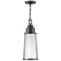 Hinkley 2552BK Miles LED 7 inch Black Outdoor Hanging Lantern