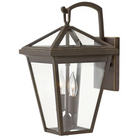 Hinkley 2560OZ Alford Place 2 Light 14 inch Oil Rubbed Bronze Outdoor Wall Mount in Incandescent, Small photo thumbnail
