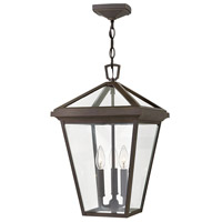 Hinkley 2562OZ Alford Place 3 Light 12 inch Oil Rubbed Bronze Outdoor Hanging Light in Incandescent, Open Air photo thumbnail
