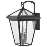 Alford Place 2 Light 18 inch Museum Black Outdoor Wall Mount