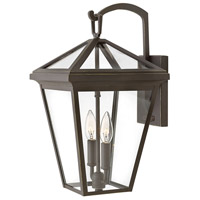 Hinkley 2564OZ Alford Place 2 Light 18 inch Oil Rubbed Bronze Outdoor Wall Sconce, Medium
