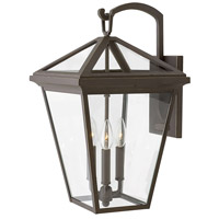 Hinkley 2565OZ Alford Place 3 Light 21 inch Oil Rubbed Bronze Outdoor Wall Sconce, Large