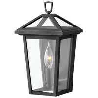 Hinkley 2566MB Alford Place 1 Light 11 inch Museum Black Outdoor Wall Mount