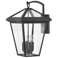 Alford Place 4 Light 24 inch Museum Black Outdoor Wall Mount
