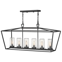Hinkley 2569MB-LL Alford Place LED 40 inch Museum Black Outdoor Hanging Light Open Air