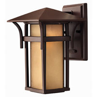 Hinkley Lighting Harbor 1 Light Outdoor Wall Lantern in Anchor Bronze 2570AR-ES