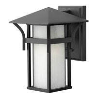 Hinkley Lighting Harbor 1 Light Outdoor Wall Lantern in Satin Black 2570SK-ES
