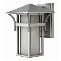 Hinkley Lighting Harbor 1 Light Outdoor Wall Lantern in Titanium 2570TT-ESDS photo thumbnail
