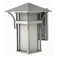 Hinkley Lighting Harbor 1 Light Outdoor Wall Lantern in Titanium 2574TT-DS photo thumbnail
