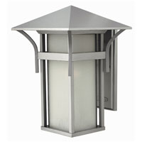 Hinkley Lighting Harbor 1 Light Outdoor Wall Lantern in Titanium 2575TT-ES photo thumbnail