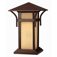 Hinkley Lighting Harbor 1 Light Pier Mount Lantern in Anchor Bronze 2576AR-ES photo thumbnail