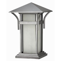 Hinkley Lighting Harbor 1 Light Pier Mount Lantern in Titanium 2576TT-ES