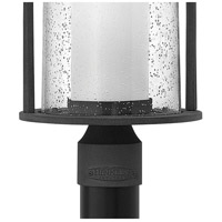 Hinkley 2611DZ Quincy 1 Light 19 inch Aged Zinc Outdoor Post Mount in Incandescent, Seedy Outer Glass alternative photo thumbnail