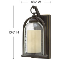 Hinkley 2614OZ Quincy 1 Light 14 inch Oil Rubbed Bronze Outdoor Wall Mount in Incandescent, Medium alternative photo thumbnail