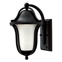 Hinkley Lighting Bolla 1 Light Outdoor Wall Lantern in Black 2630BK-EST