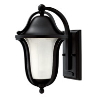 Hinkley Lighting Bolla 1 Light GU24 CFL Outdoor Wall in Black 2630BK-GU24